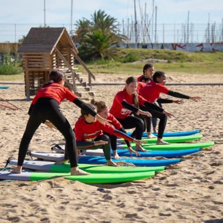 curso surf barcelona