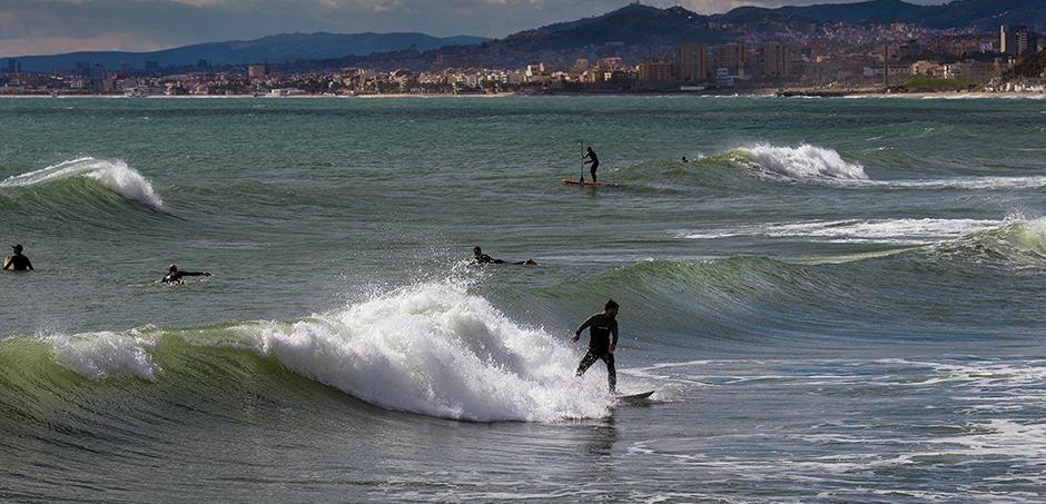 escuela surf barcelona
