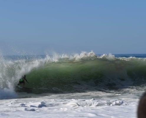 Surf avanzado en Barcelona