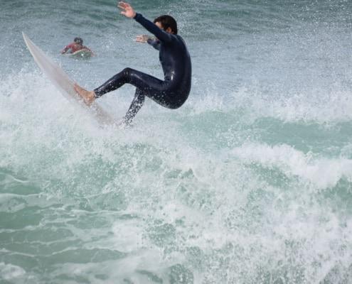 clase surf en Barcelona