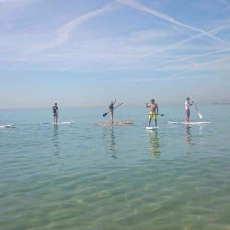 paddle surf class in barcelona