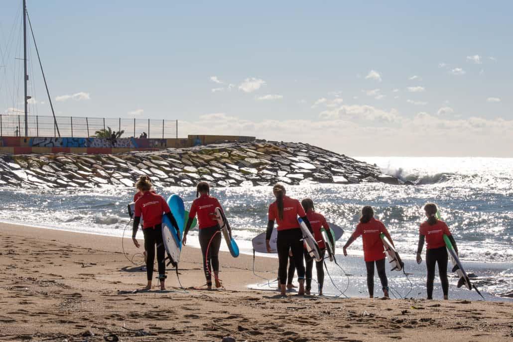 alquiler tabla surf